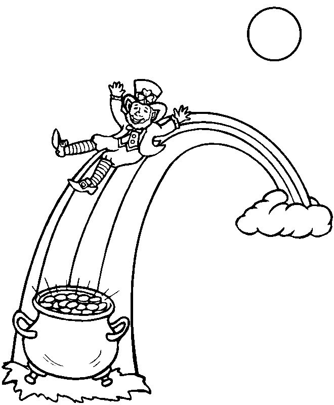 Free St. Patrick's Day Coloring Pages For Kids