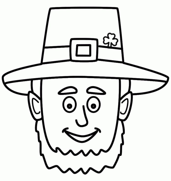Beautiful St. Patrick's Day Coloring Pages For Toddlers