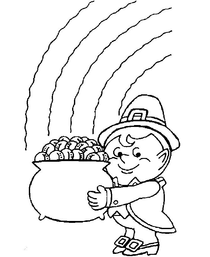 Free St. Patrick's Day Coloring Sheets Bing Images