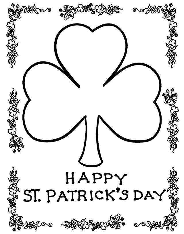 Free St. Patrick's Day Pictures For Kids