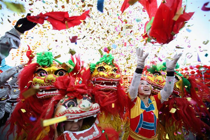 Unique Images Of Chinese New Year Celebrations