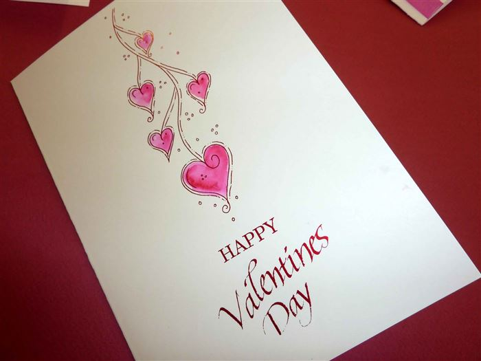 Unique Happy Valentine's Day Greeting Cards Photo