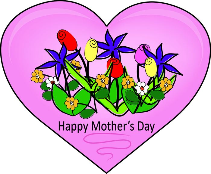 Beautiful Animated Happy Mother's Day Clip Art
