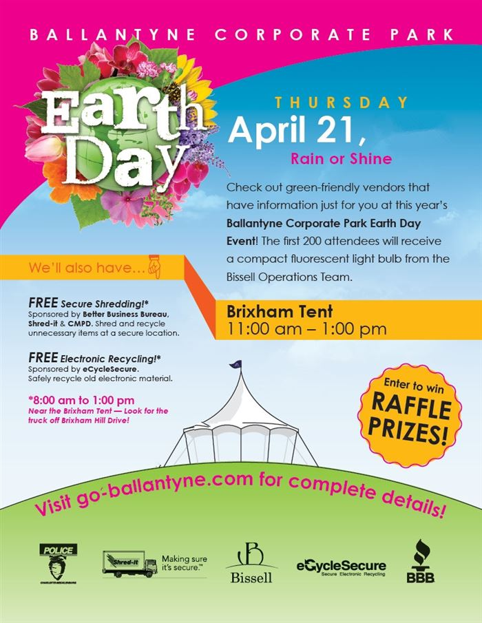 Attractive Happy Earth Day Poster Contest Flyer