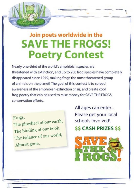 Beautiful Happy Earth Day Poster Contest Flyer