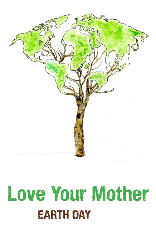 Beautiful Handmade Posters On Happy Earth Day