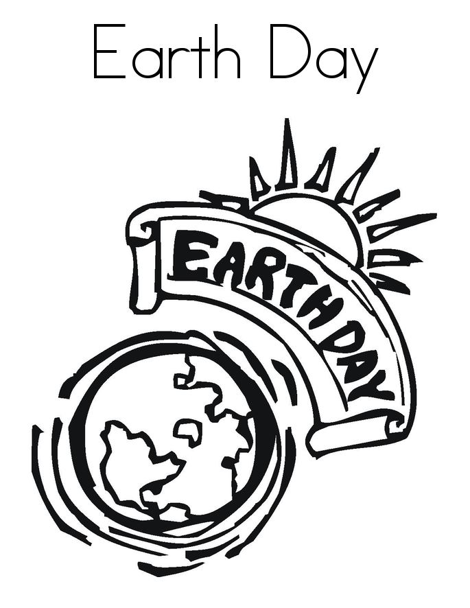 Best Coloring Pictures For Happy Earth Day
