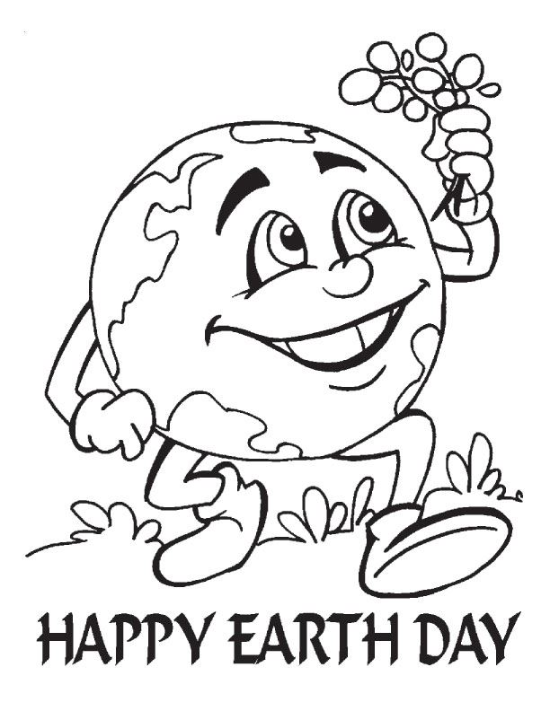 Beautiful Coloring Pictures For Happy Earth Day