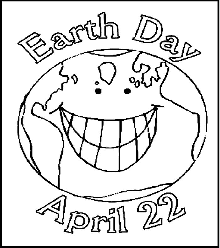Black And White Happy Earth Day Clip Art Pictures