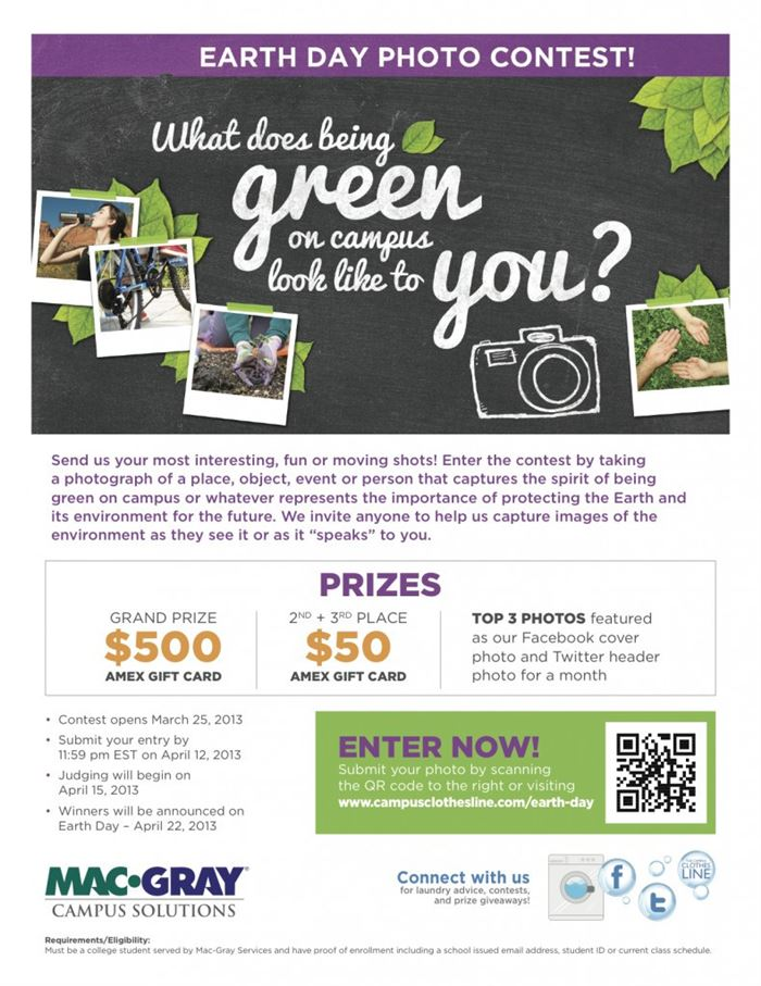 Beautiful Happy Earth Day Poster Contest Ideas