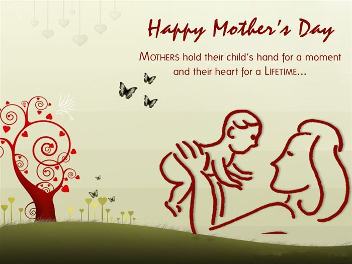 Beautiful Happy Mother's Day Clip Art For Kids