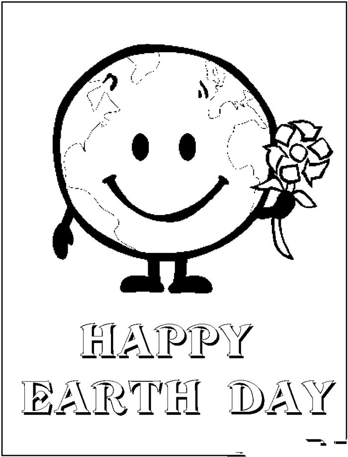 Beautiful Earth Day Coloring Pages Image