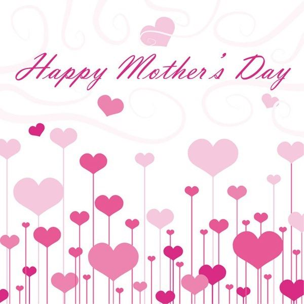 Beautiful Happy Mother's Day Backgrounds Clip Art