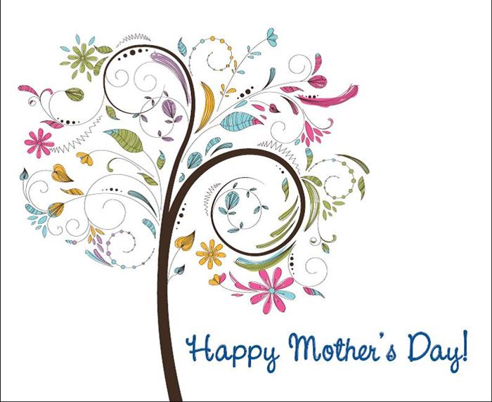 Beautiful Happy Mother's Day Images Clip Art