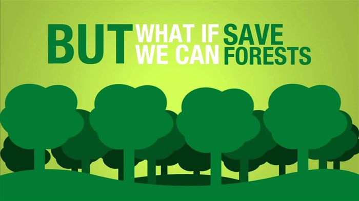 Meaningful Happy Earth Day Save The Trees Poster