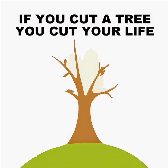 Unique Happy Earth Day Save The Trees Poster