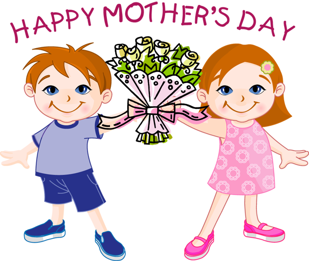 Best Happy Mother's Day Flowers Clip Art Free