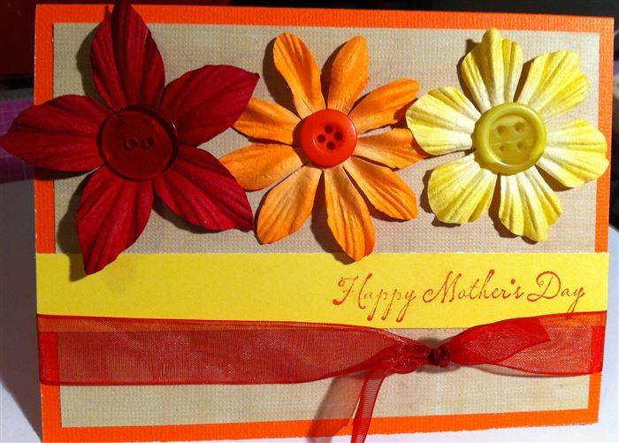 Beautiful Pictures Of Homemade Mother's Day Cards