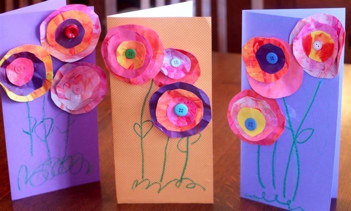 Ideal Pictures Of Mothers Day Crafts For Kids To Make