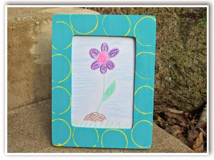 Easy Mother's Day Picture Frame Ideas For Kids
