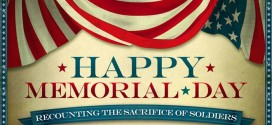 Beautiful Memorial Day Banner Clip Art