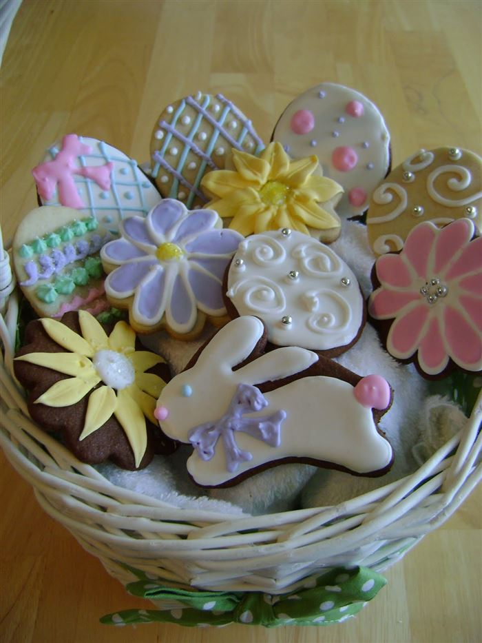 Easy Easter Cookies Recipes Pictures