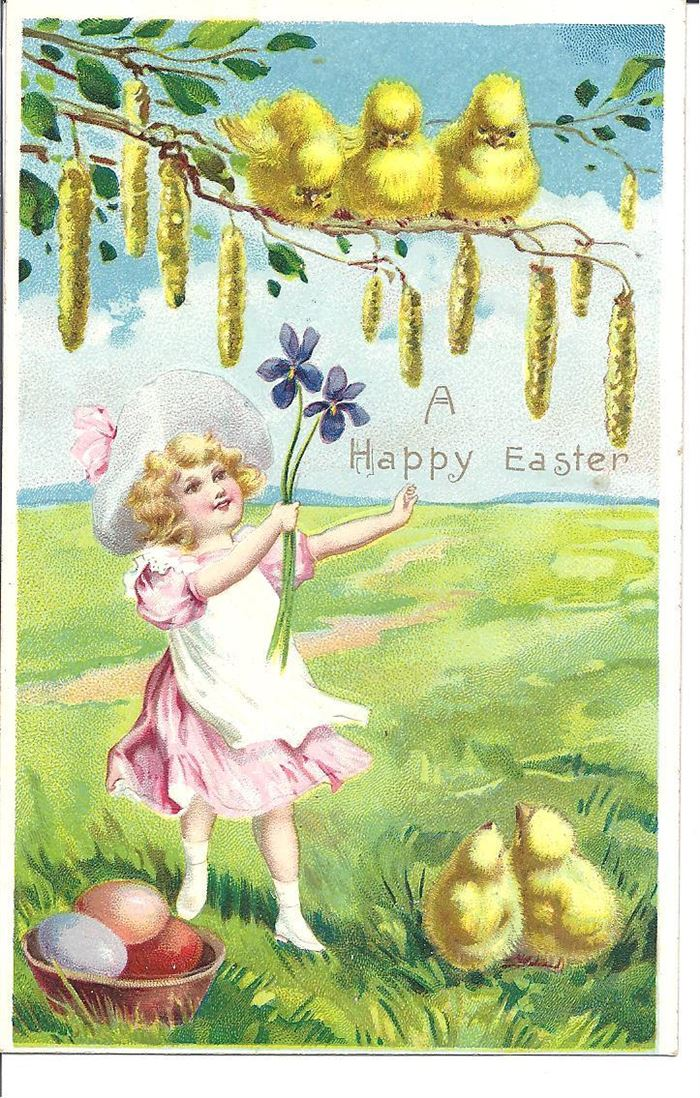 Free Beautiful Easter Pictures With Baby Chicks