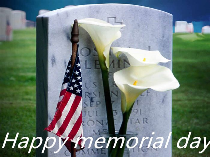 Meaningful Memorial Day Clip Art Flowers