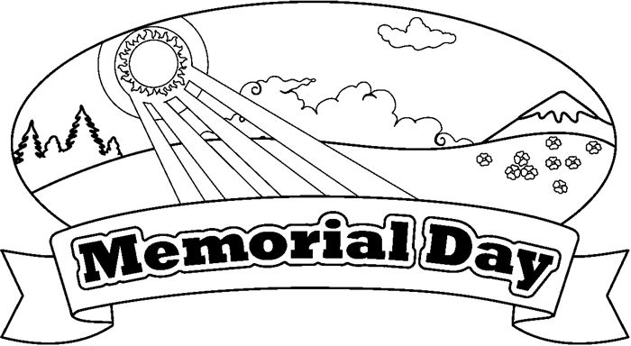 Meaningful Memorial Day Coloring Pictures For Kids