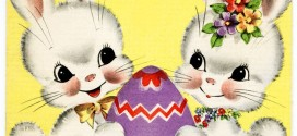 Best Vintage Easter Bunny Clipart