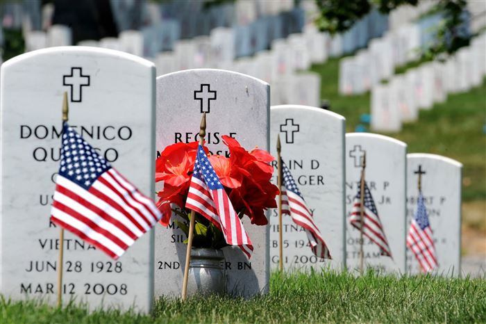 Beautiful Arlington National Cemetery Memorial Day Photos