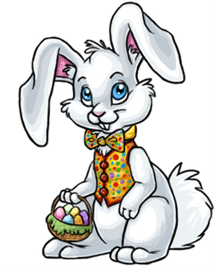 Free Easter Bunny Clipart Images
