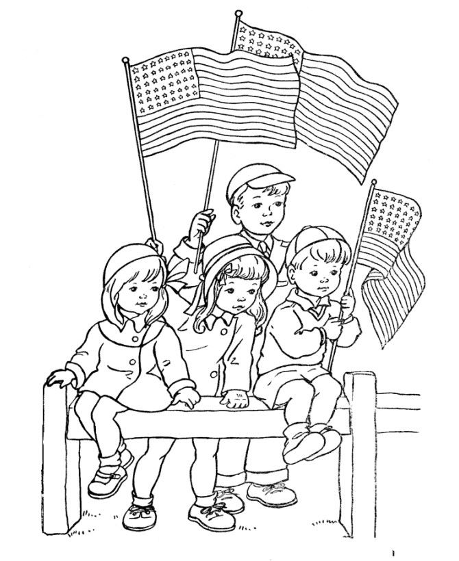 Free Memorial Day Pictures To Print And Color
