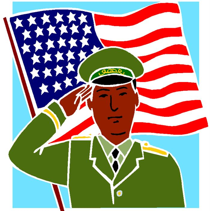Beautiful Animated Happy Flag Day Clip Art
