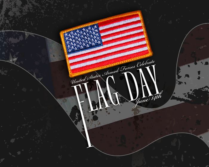 Beautiful Animated 14th June Flag Day Clip Art