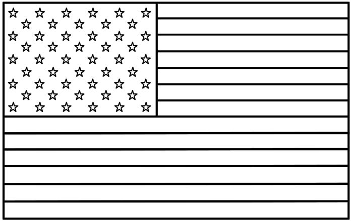 Best American Flag Day Coloring Pages For Kids