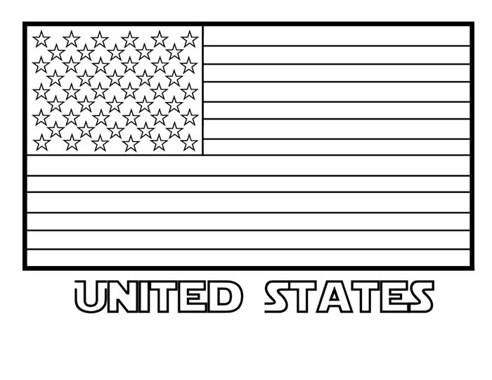 Free American Flag Day Coloring Pages For Kids