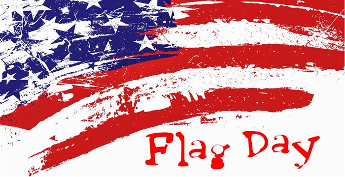 Beautiful June 14 Flag Day Clip Art Free