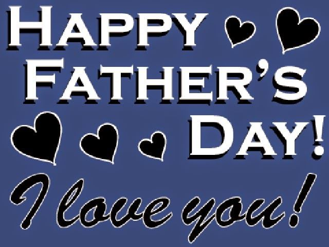 Unique Happy Father's Day Animated Clip Art