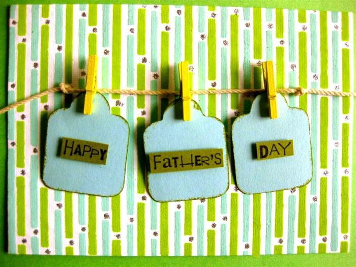 Free Unique Happy Father's Day Banner Clip Art