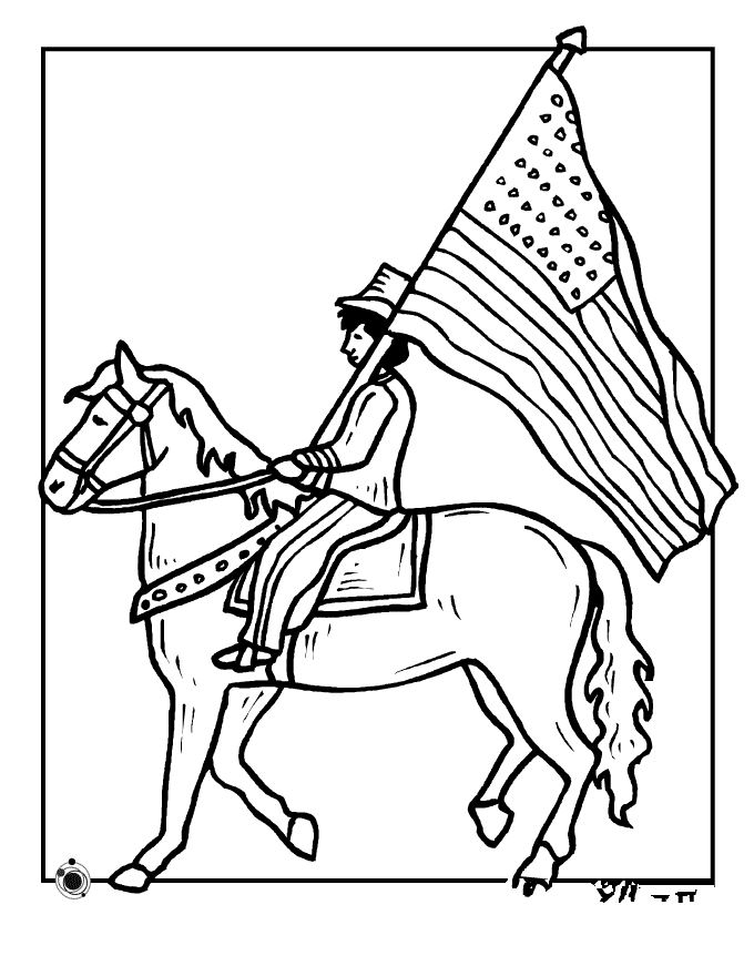 Best Printable Flag Day Coloring Pages