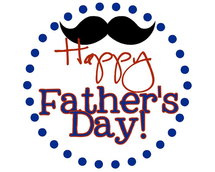 Beautiful Animated Happy Father's Day Clip Art