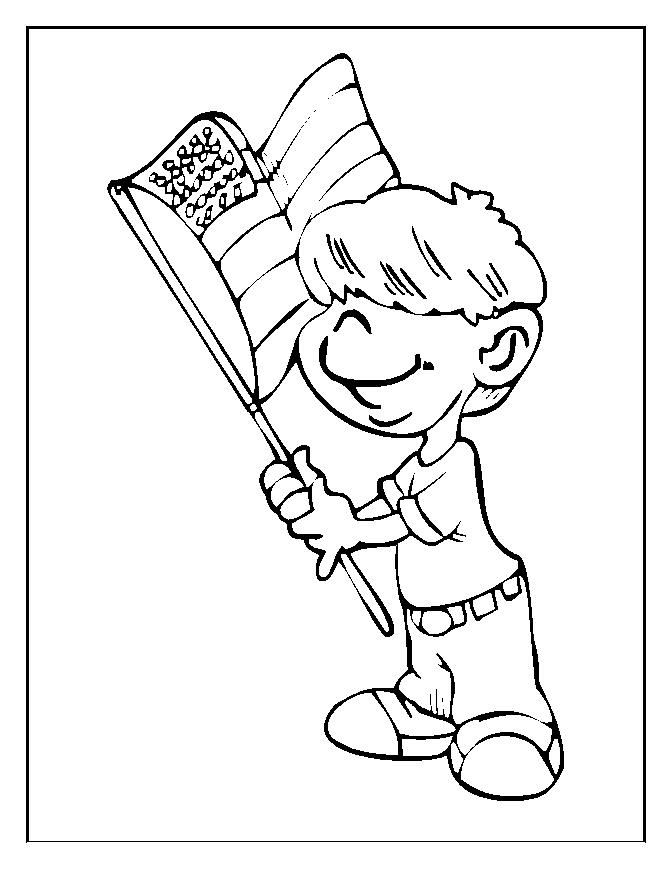 Best Flag Day Coloring Pages For Preschoolers Free