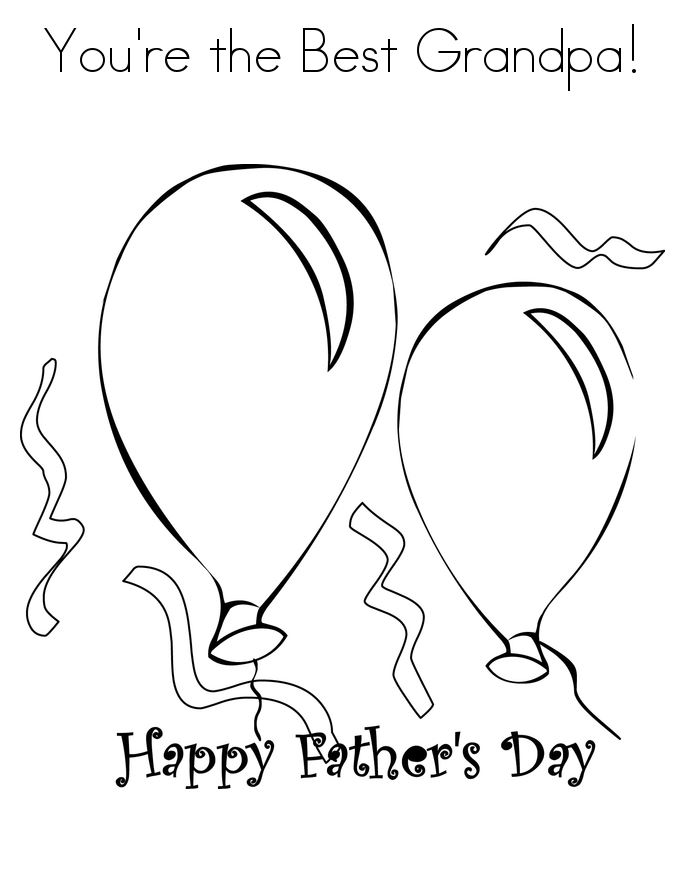 Beautiful Happy Father's Day Clip Art For Grandpa