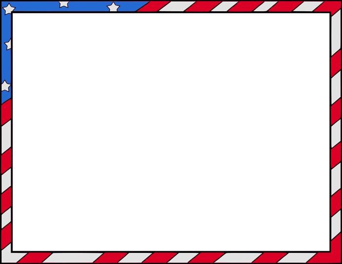 Free Happy Flag Day Clip Art Borders