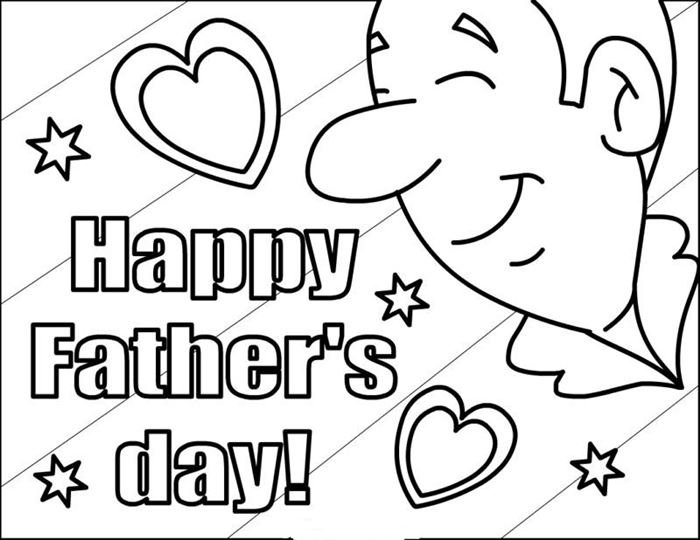 Free Happy Father's Day Clip Art Printable
