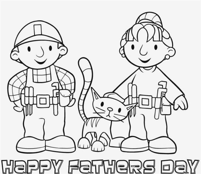Unique Printables Happy Father's Day Clip Art