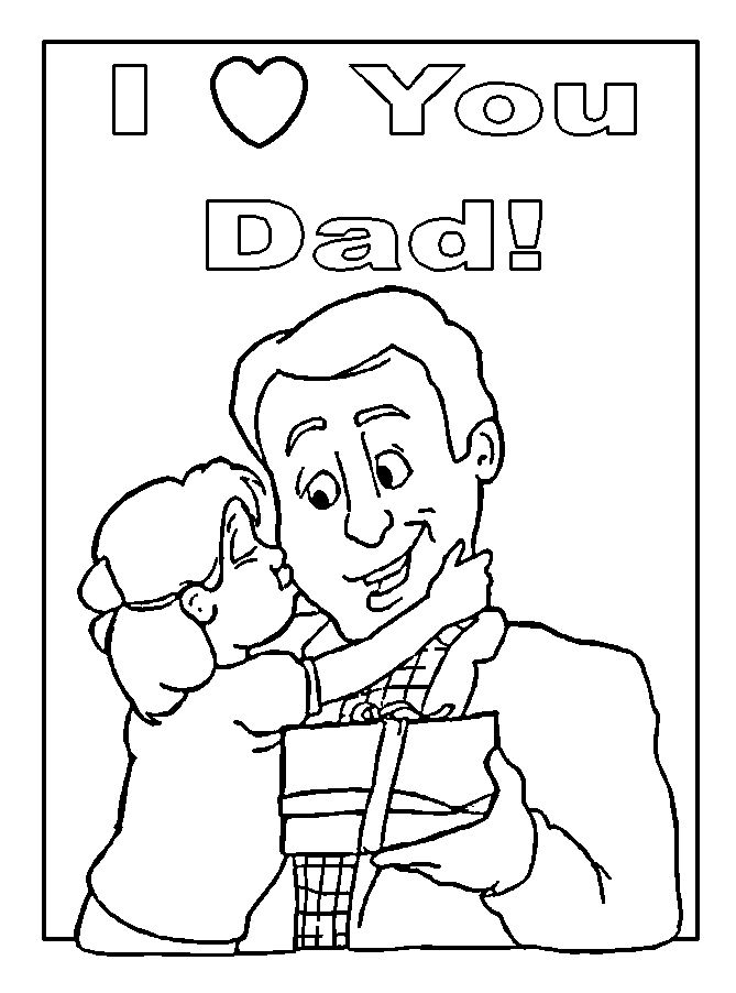 Beautiful Printables Happy Father's Day Clip Art