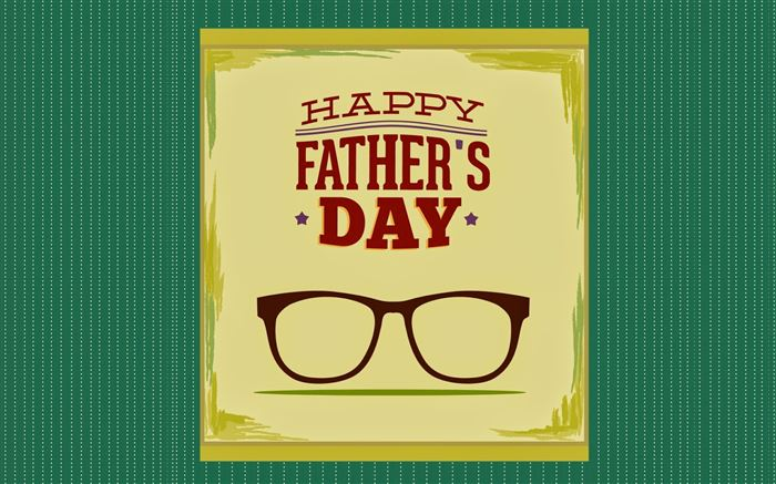 Beautiful Vintage Happy Father's Day Clip Art