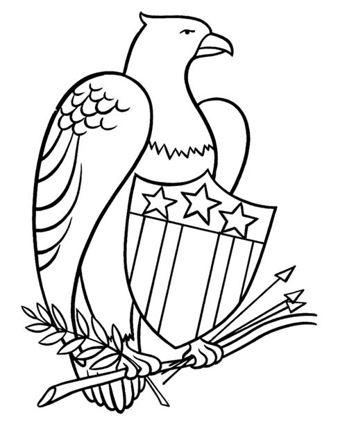 Printable Happy Flag Day Coloring Pages For Children